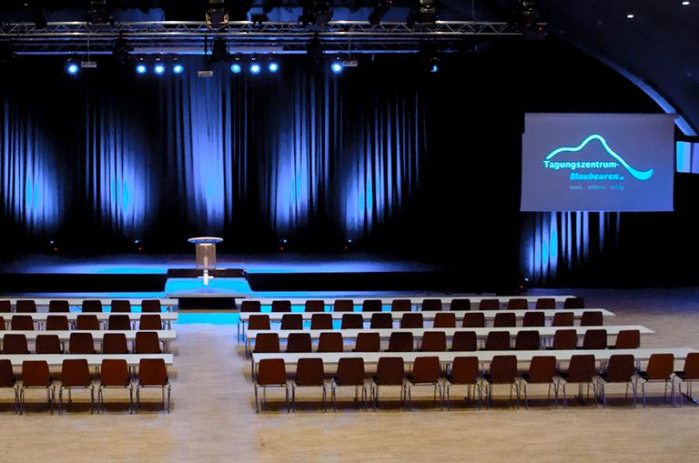 Multifunktionshalle im Tagungszentrum Blaubeuren