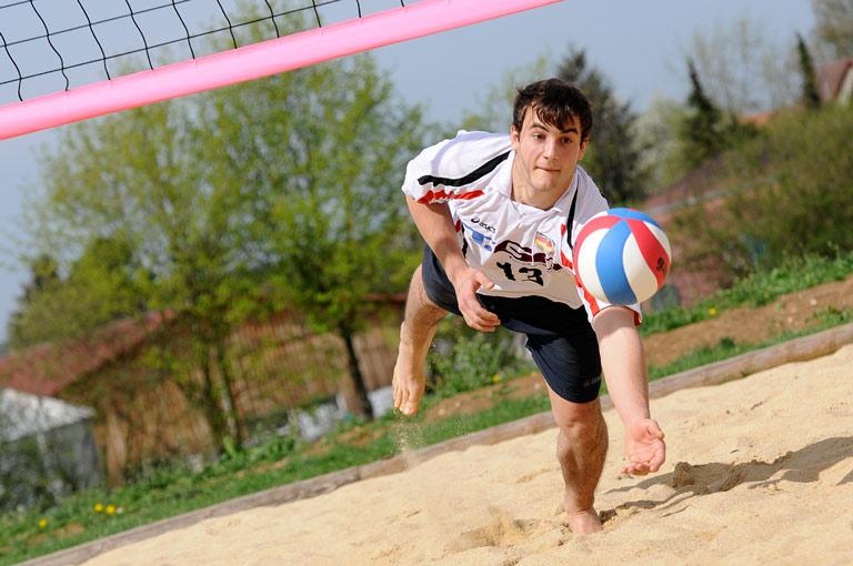 Freizeitmöglichkeit Volleyball