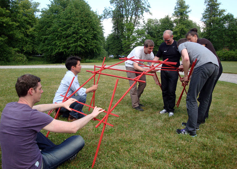 Teambuliding Leonardos Bridge