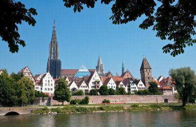 Ansicht Ulm mit Fischerviertel